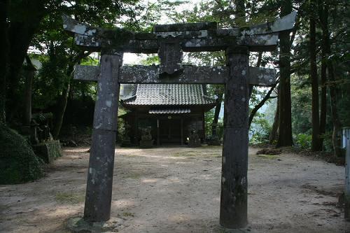 倉岡神社の鳥居