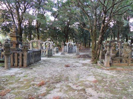 真龍寺鍋島家墓所
