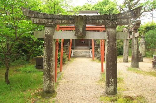 櫛森神社鳥居