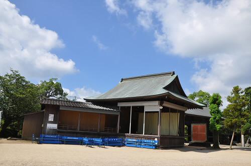 櫛田宮の能舞台