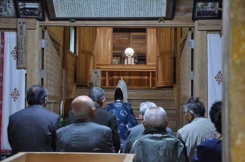 後鳥羽神社の秋祭